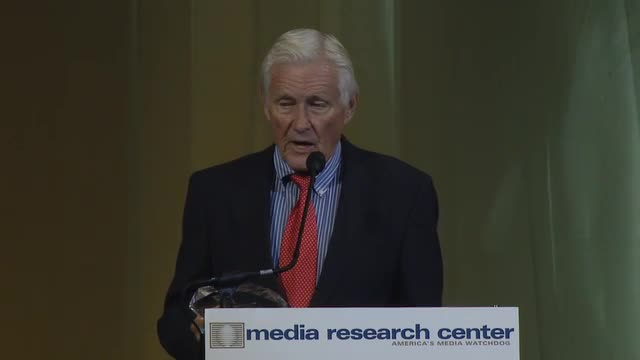 Orson Bean Accepts MRC's Buckley Award on Behalf of the Late Andrew Breitbart