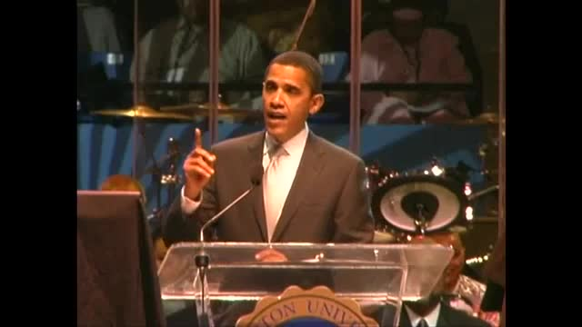 2007 Media-Sanitized Obama Speech at Hampton University