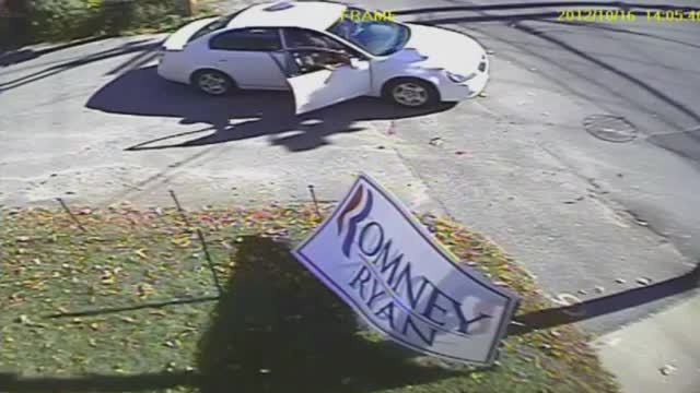 Local Media Covering Anti-Romney Vandalism, National Liberal Media Ignore