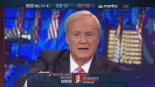 Chris Matthews Thanks Sandy For Obama Victory