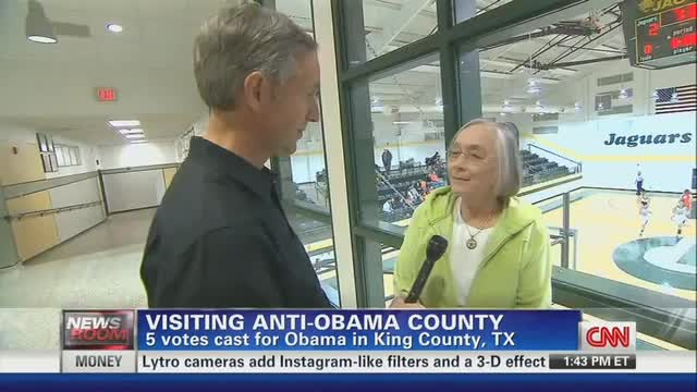 CNN Miffed by 'Anti-Obama' County; Excuses Districts with Zero Romney Votes
