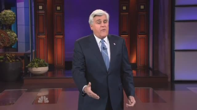 Jay Leno Monologue Politics: 11/12/2012
