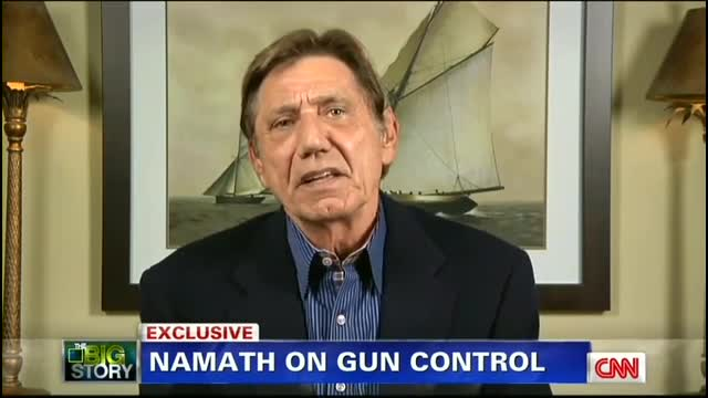 Hall of Famer Namath to Piers Morgan: Blame Violence on the 'Animal We Are', Not Guns