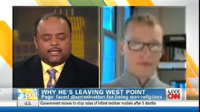 CNN's Roland Martin Compares Non-Religious West Point Cadet's 'Discrimination' With Racism