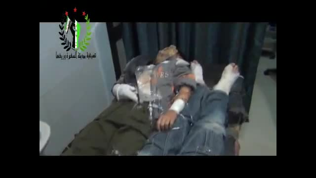 Graphic Video: Syrian Rebels Release Video as Proof Assad is Using Chemical Weapons