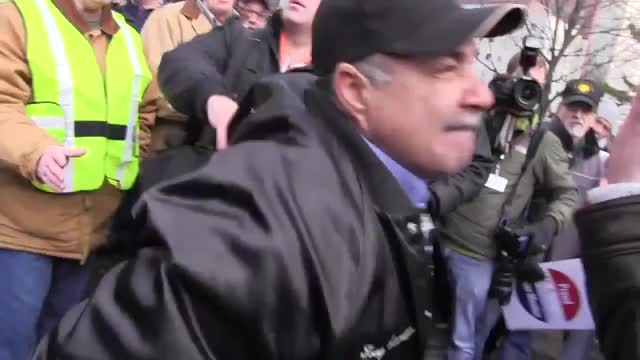 Union Thugs on Camera in Michigan