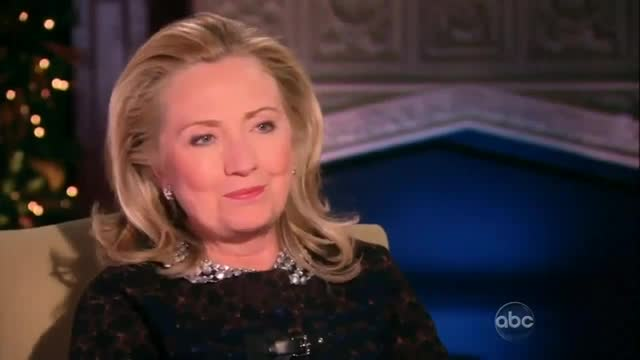 Instead of Asking Hillary Clinton About Benghazi, Barbara Walters Pushes Her to Run for President