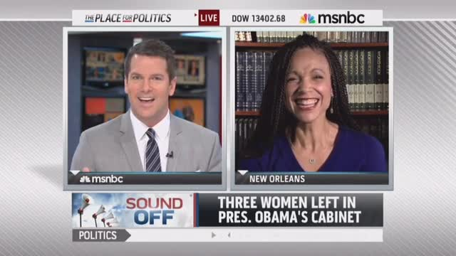 MSNBC's Perry Attacks Thomas To Defend Obama's Lack Of Cabinet Diversity