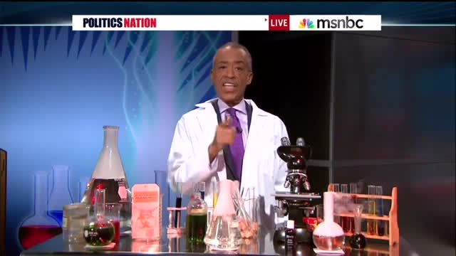 Rev. Al Sharpton Hosts 'PoliticsNation Science Lab' To Slam GOP Over Global Warming