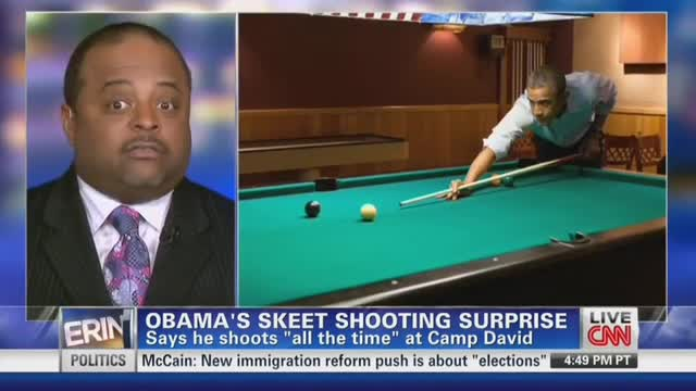 CNN&#039;s Burnett Not Buying Obama&#039;s Skeet Shooting Story?