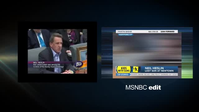 'Heckler': MSNBC Selectively Edits Video To Smear Gun Rights Supporters