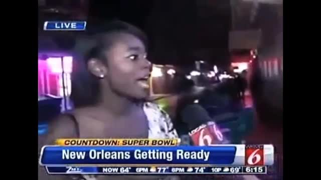 New Orleans Local News Reporter Shuts Down Videobomber