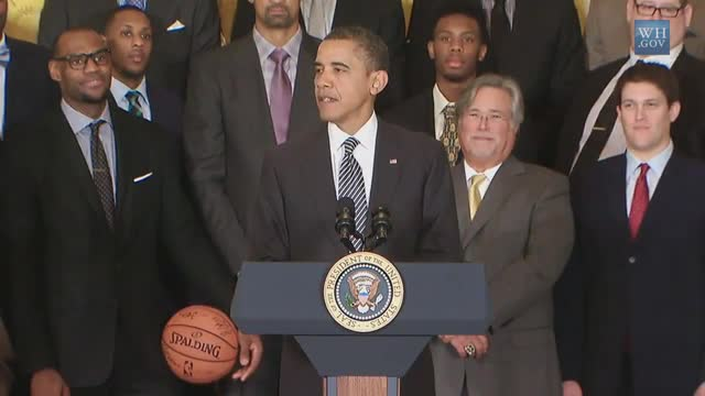 Obama: Pick-up Game With Heat Players &#039;Prepared Them&#039; to Win Title