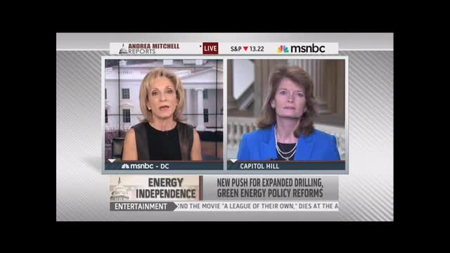 Andrea Mitchell: Storms Show U.S. Needs To Go It Alone If Necessary On Climate Change