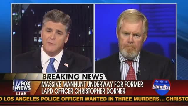 Bozell, Hannity Discuss How Media Are Ignoring Left-wing Inspiration of Cop Killer Dorner