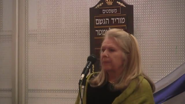 Valerie Price introduces Gavin Boby in Toronto Feb 6 2013