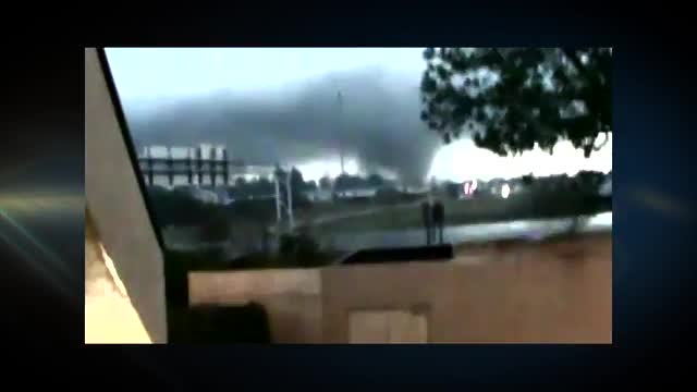 Language Warning: Tornado Tears Through Hattiesburg, MS