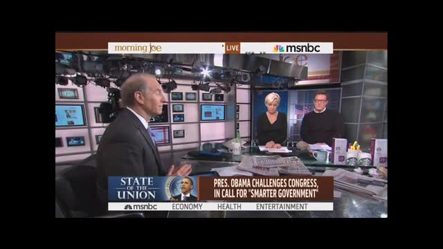 Scarborough's Surprising Imaginary SOTU Response