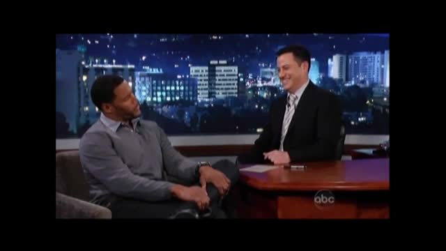 Michael Strahan to Jimmy Kimmel: &#039;There Was Watermelon In My Dressing Room&#039; 