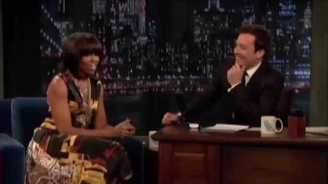 Jimmy Fallon Asks Michelle Obama To Run With Hillary Clinton In 2016