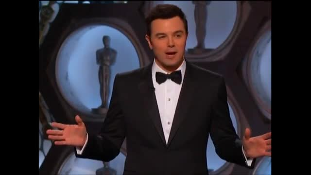 Oscars Audience Stunned By MacFarlane's Tasteless Joke About Lincoln Assassination