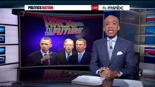Sharpton&#039;s Sequester Scare Tactic: Falsely Claims Closing Control Tower Closes An Airport