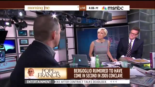 MSNBC's Mika Brzezinski and NYT's Frank Bruni Decry Catholic Church's 'Secrecy,' a 'Recipe for Disaster'