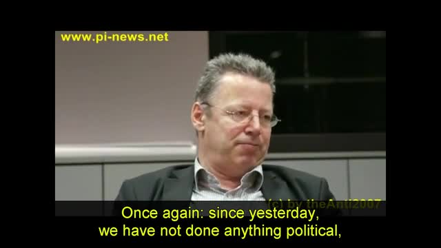 Part II of the German politician Markus Beisicht speaking on the attempted assassination by Muslims