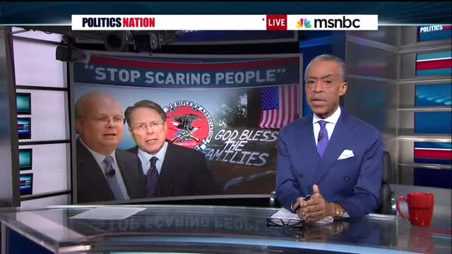Sharpton's MSNBC Show Sponsored By Manufacturer Of 'Big, Brutal' Rifles
