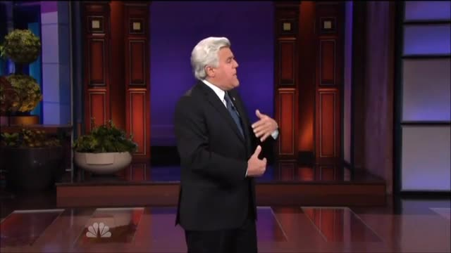 Leno: 'NBC and I Have Reached a Peaceful, Amicable Agreement...April Fools!'
