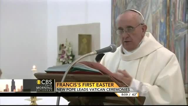CBS Cheers Pope Francis Against Conservative Old Guard