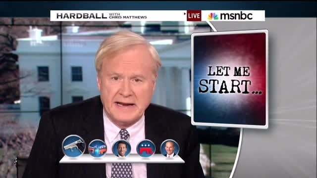 Chris Matthews Links Pro-Second Amendment Ted Cruz to AG Shootings in Texas