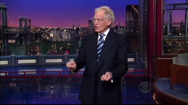 Letterman: 'Jay's Got Another Job on a Network That Has Higher Ratings - Univision'
