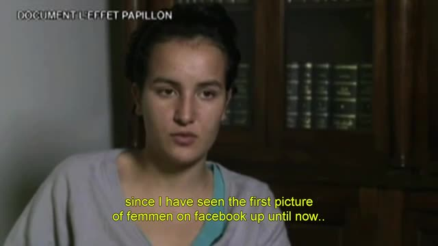 Full interview with Tunisian Facebook woman in hiding.