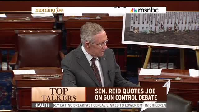 Scarborough On Harry Reid Quoting Him On Senate Floor: There Goes My GOP Primary!