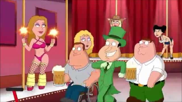 Family Guy Turns Classic Wizard of Oz Song Into Vulgar Tune About Canadian Nudie Bars