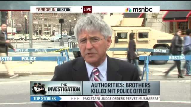 MSNBC&#039;s Witt On FBI Failure To Monitor Boston Bomber After Interview: &#039;Hindsight Is 20-20&#039;