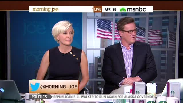 Despite Multiple Flip-Flops, Scarborough Says His '94 2nd Amendment Positions 'Very Consistent' With Today's