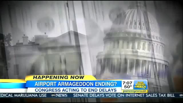 ABC Heralds End of 'Airport Armageddon,' Fails to Portray Furloughs Battle as Democratic Defeat