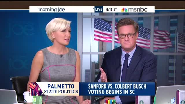 SC Election Day: Mika Tries To Stop Scarborough From Mentioning Dem's Anti-Haley Slur