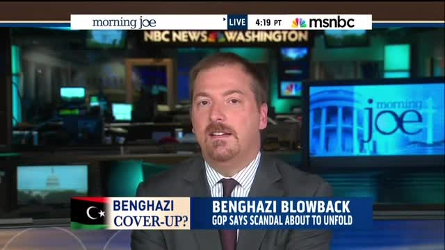 Chuck Todd: 'Very Rational' Not To Have Sent More Special Ops to Benghazi