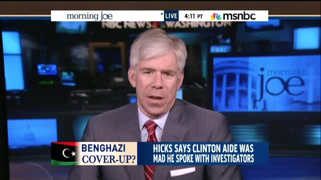 David Gregory Claims Obama Administration Handling Of Benghazi Was Merely 'Sloppy'