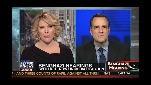 Dan Gainor Discusses Benghazi with Megyn Kelly