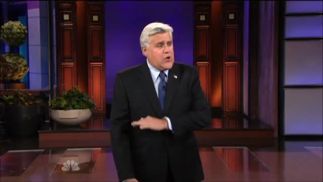 Leno: 'The White House Has a New Slogan About Benghazi - Hope and Change the Subject'