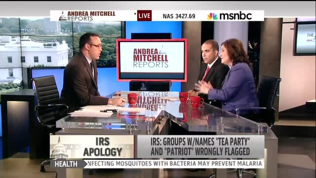 Even MSNBC Libs Stunned by 'Outrageous Dumbness' of IRS