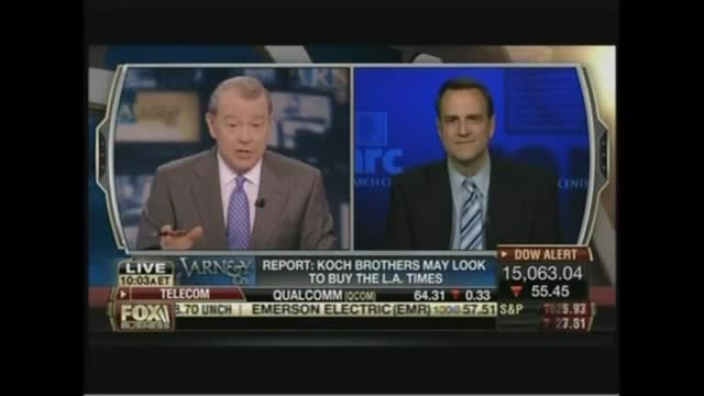 Dan Gainor Discusses IRS Controversy on Varney & Co.