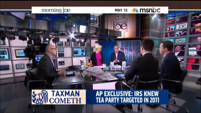 MSNBC's Scarborough and Geist on IRS Scandal: 'This Is Tyranny'