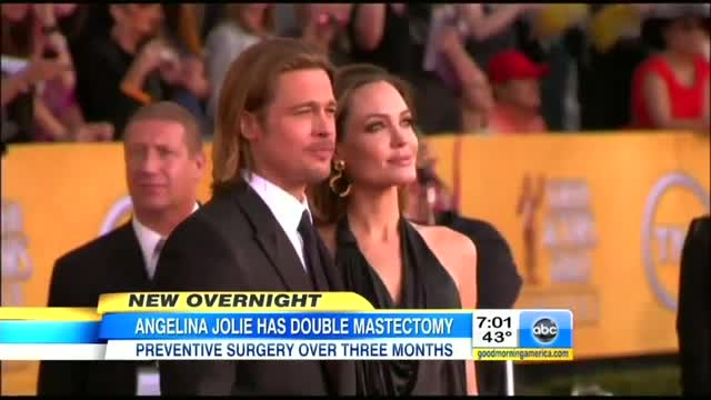 ABC, NBC Morning Shows Hype Angelina Jolie's Mastectomies With Nearly 27 Min. of Coverage; Yawn at Gosnell Verdict