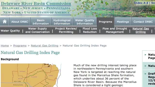 Fracking moratorium In PA
