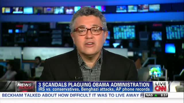 CNN Legal Analyst Scoffs at 'Earth-Shaking' Outrage Over IRS Scandal, Calls for 'a Little Less Hysteria'